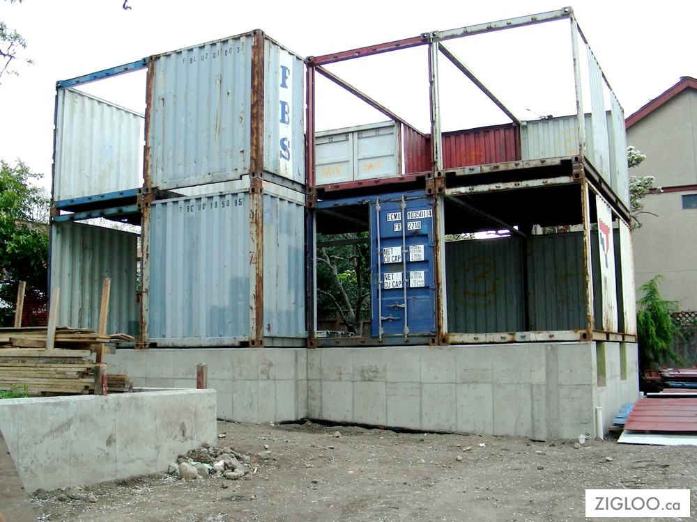 zigloo domestique construction | Zigloo Custom Container Home Design