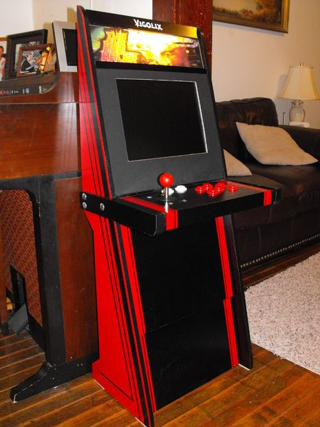 A Super Easy Arcade Machine From 1 Sheet of Plywood | Arcade ...