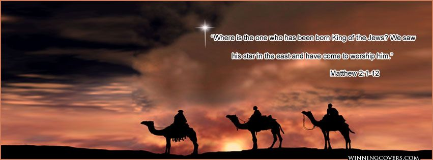 we three kings on camels Christmas timeline cover banner ...