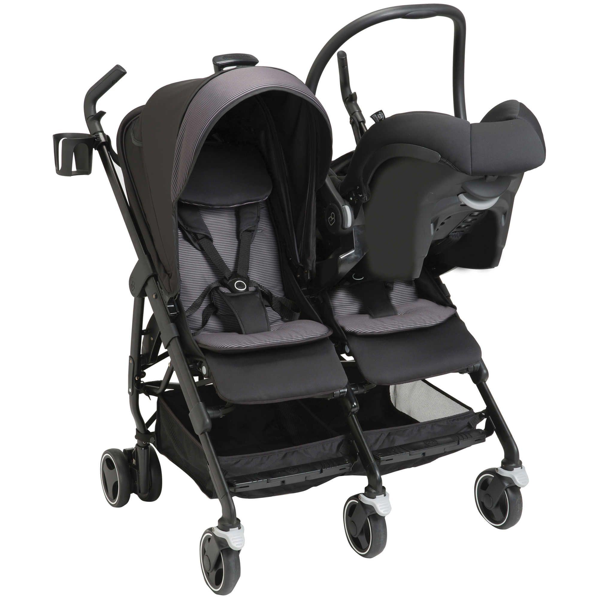 MaxiCosi® Dana For2 Double Stroller in Devoted Black 400