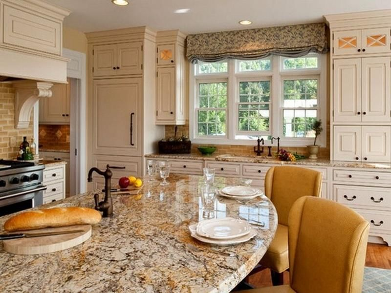 Baywindow For Kitchen Window Treatment Ideas For Kitchen