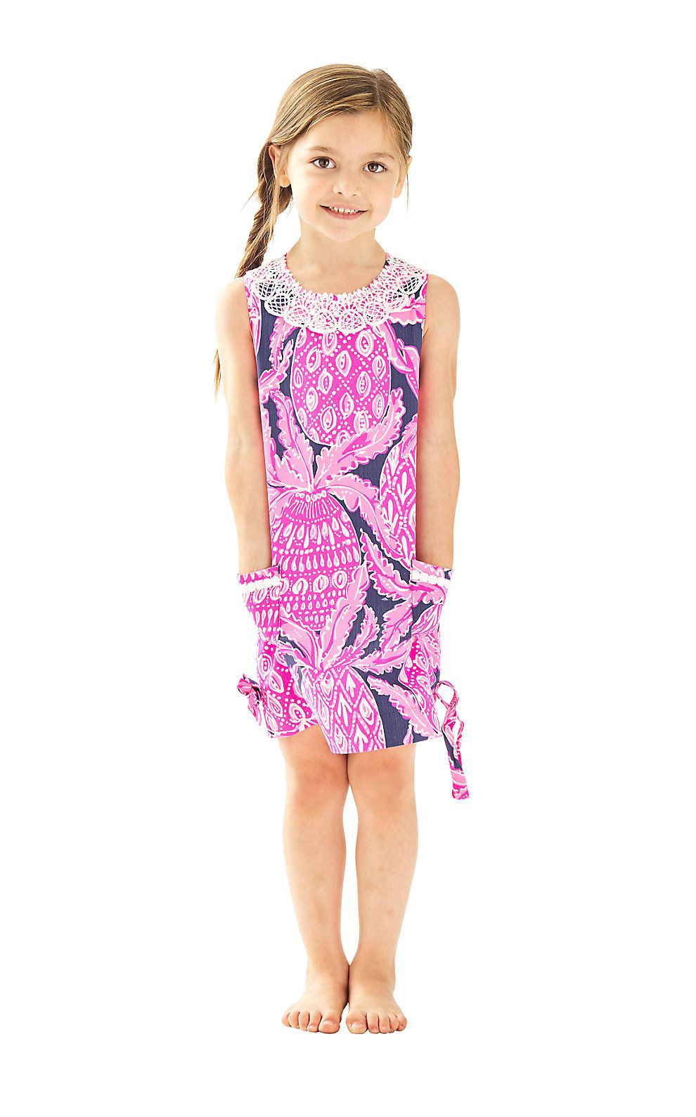 Lilly Pulitzer Girls Little Lilly Classic Shift Dress