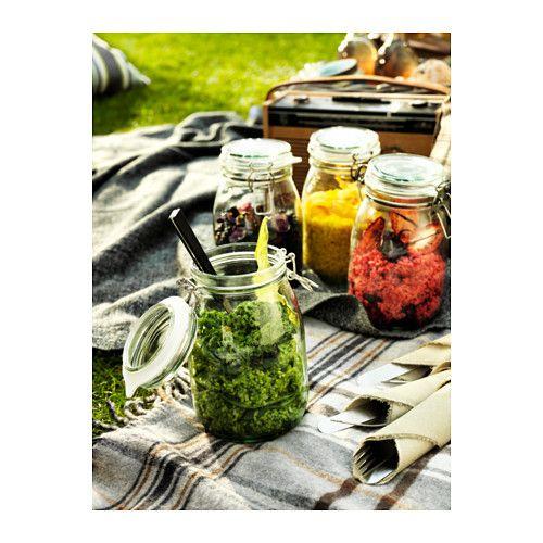 korken bocal avec couvercle verre transparent maison. Black Bedroom Furniture Sets. Home Design Ideas