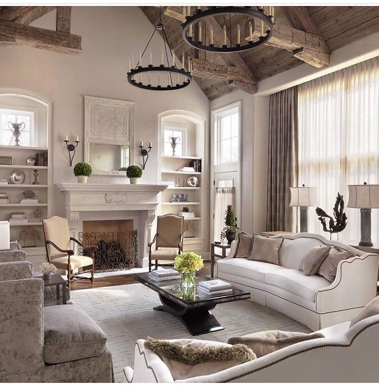Pin by Alison Lombardo on Home | Country style living room ...