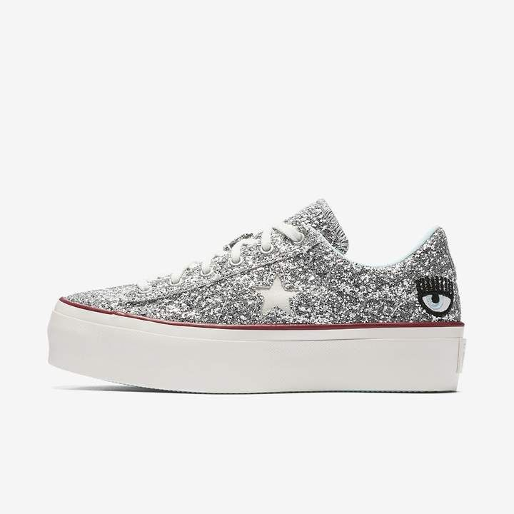 007c7870298f08 Converse x Chiara Ferragni One Star Platform Low Top Women s Shoe ...