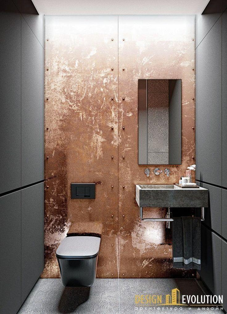 Copper Love Architecture Bathroom Toilet Design Luxury Bathroom