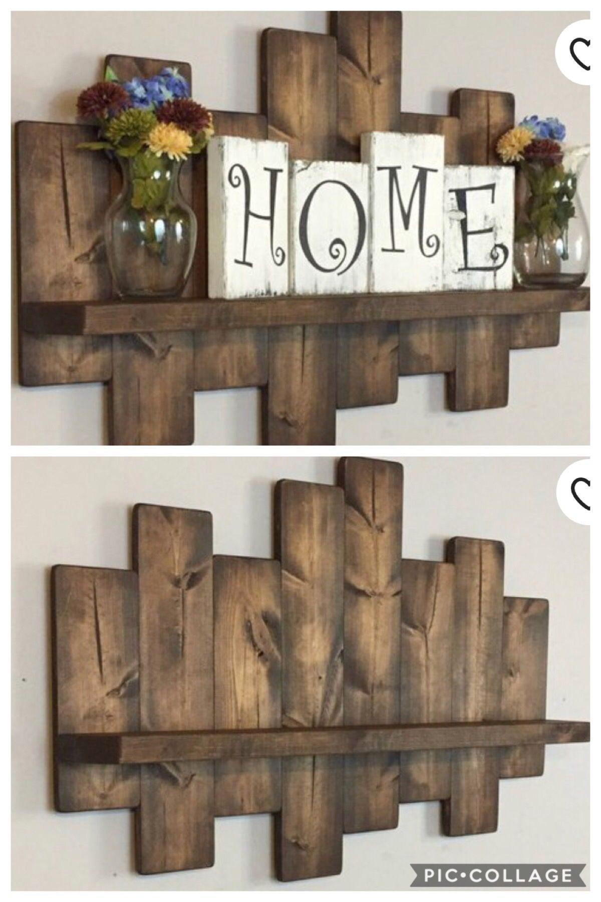 Wood Wall Project In 2020 Scrap Wood Crafts Woodworking