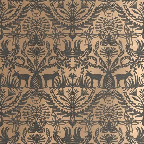 30 Eulalia Peel & Stick Removable Wallpaper Metallic Gold