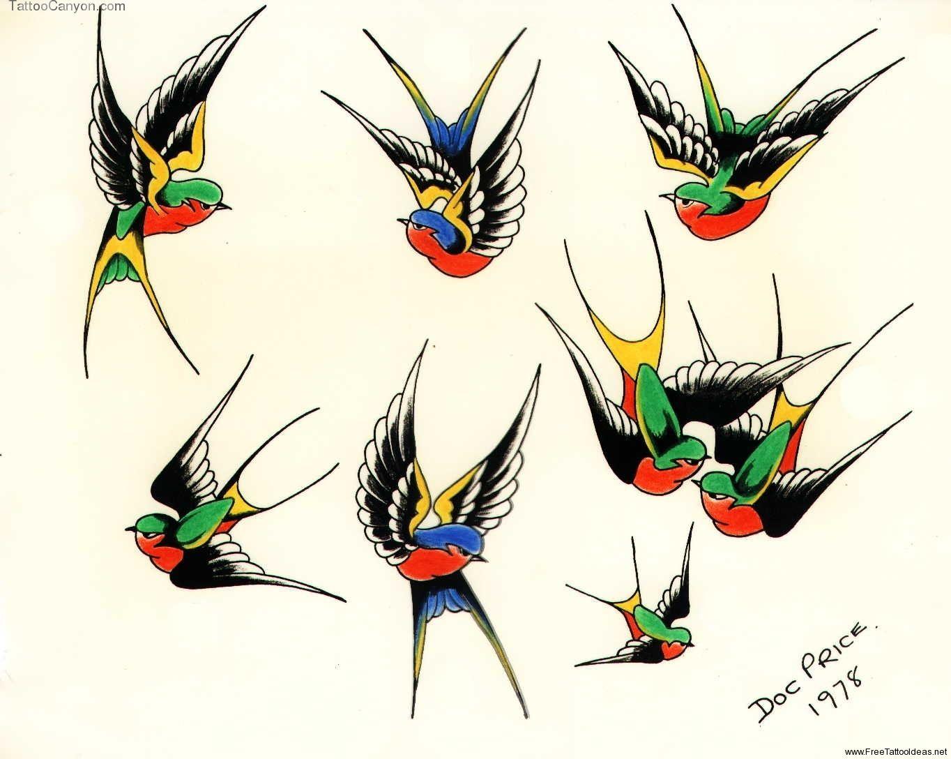 Sparrow Tattoos Ideas Birds Stencils Picture 867 Swallow Tattoo Swallow Bird Tattoos Traditional Swallow Tattoo