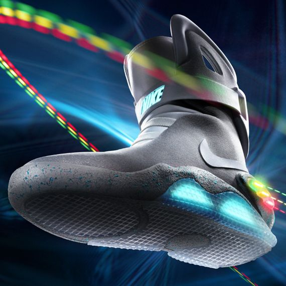 The Future from the Past. | Nike mag, Nike air mag, Sneakers