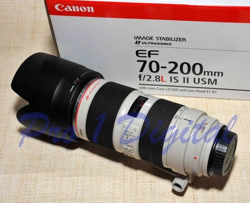 Canon EF 70-200mm f2.8L IS II USM  NZD $3,200.00