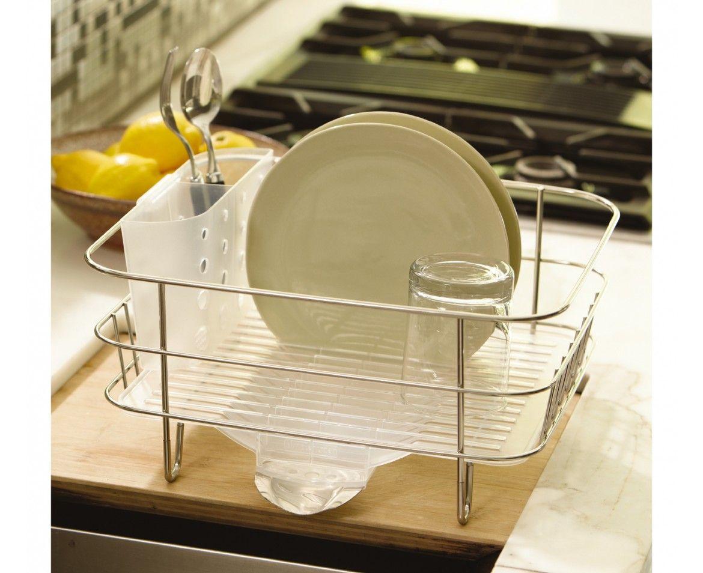 Dishrack This Is Home Simplehuman Dish Rack Dish Racks