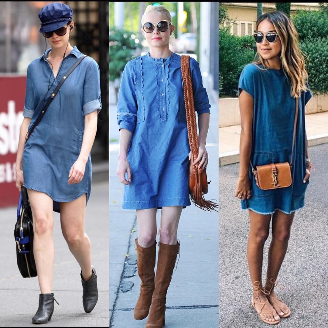 Denim Dresses 2017,2018 Trendy Jeans Dresses For Women