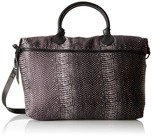 Foley + Corinna Expandable Snake Print Weekender Bag