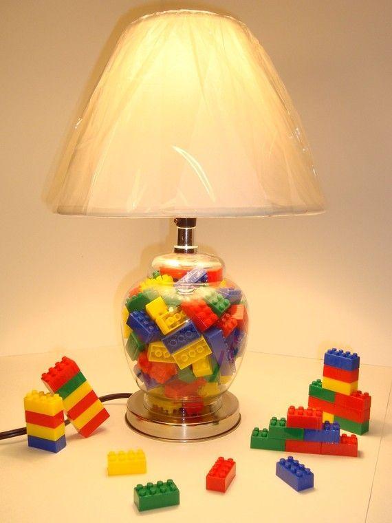 Cute Diy Mini Lego Led Lamps Lego Room Lego Bedroom Lego Lamp