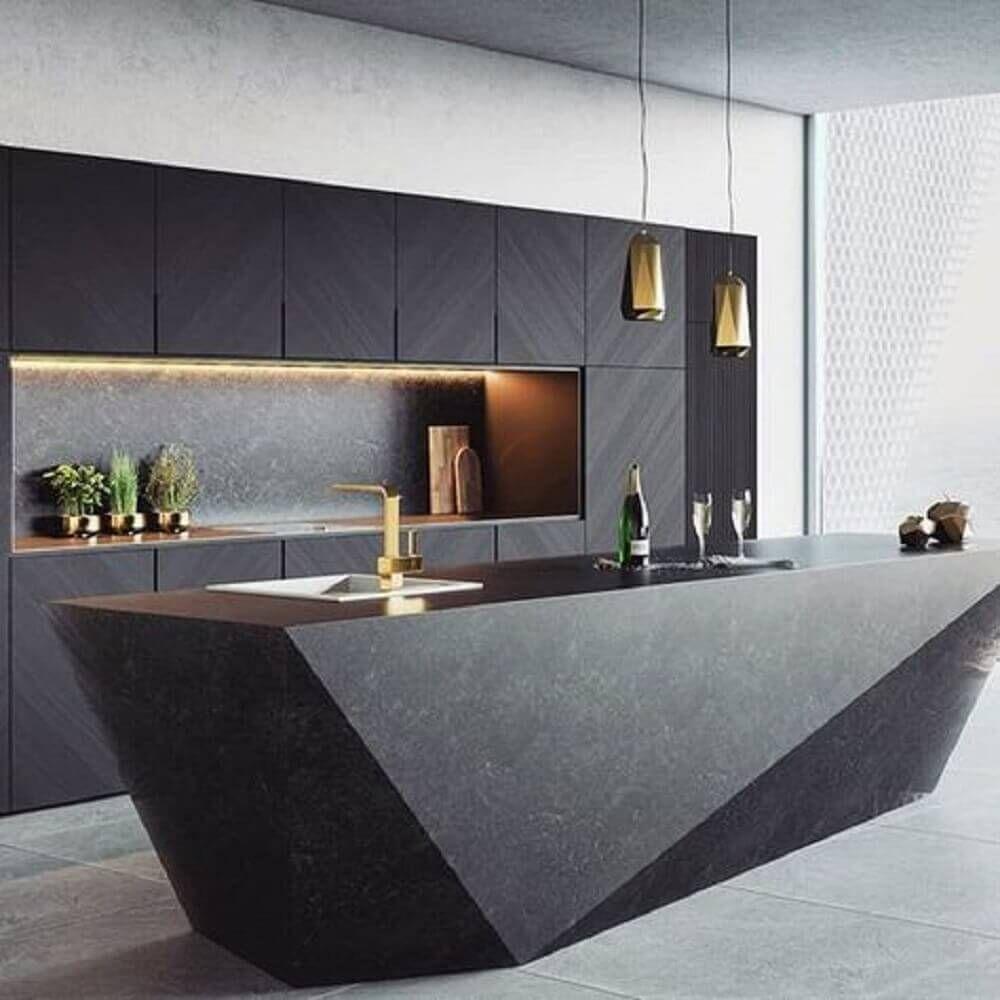 Ultra Modern Interior Design: Cozinhas Modernas: Saiba Como Transformar A Sua +80
