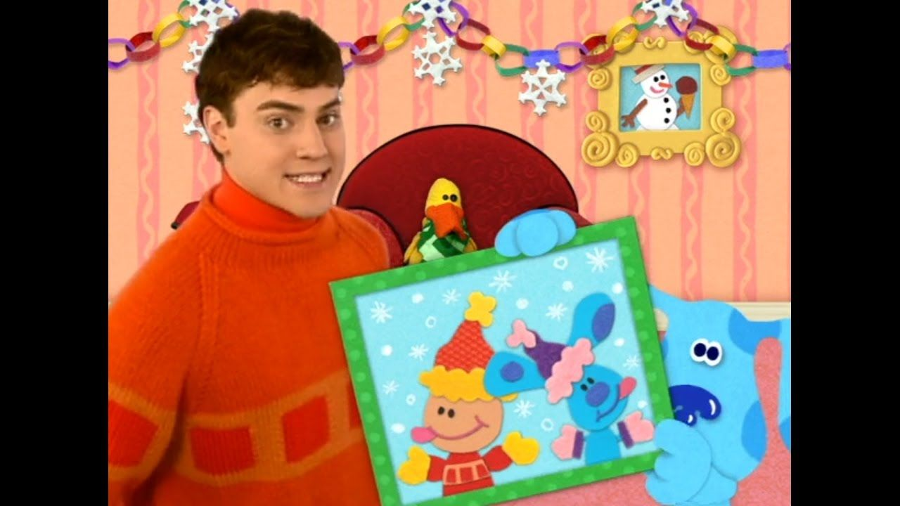 blue u0027s clues blue u0027s first holiday full episode blues clues
