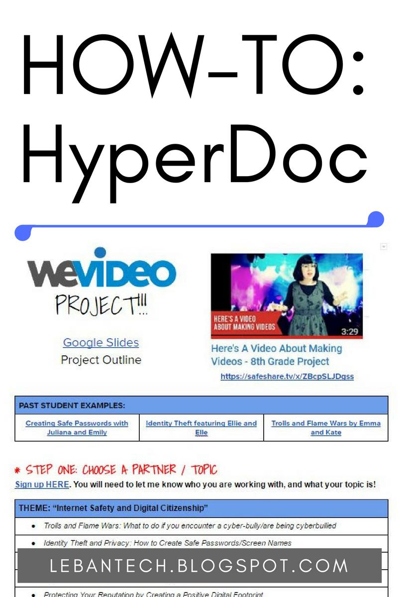 Do You Even Hyperdoc Life Hacks For School School Technology Teacher Tech Tools [ 1200 x 800 Pixel ]