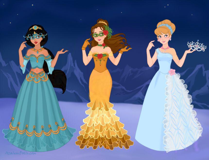 Disney Masquerade 2 by M-Mannering on DeviantArt