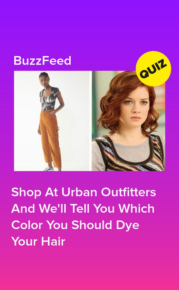 Shop At Urban Outfitters And Well Tell You Which Color You Should