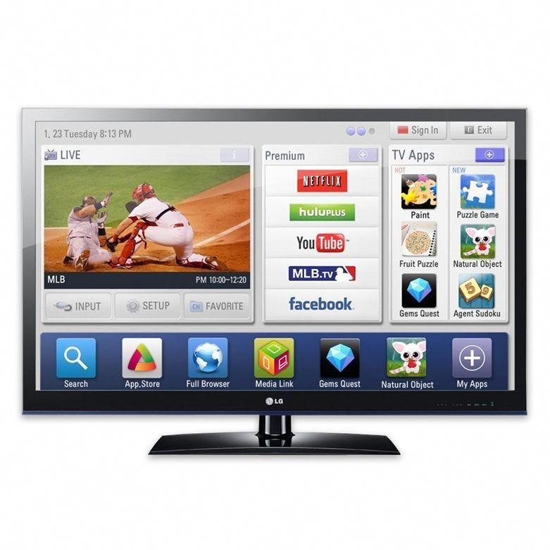 LG 55LV5500 TV Vista