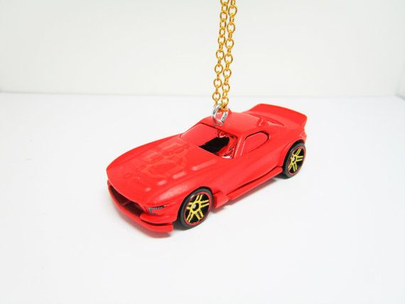 2 1/2 Daredevil Die-Cast Car Tree Ornament by TinyTreads on Etsy