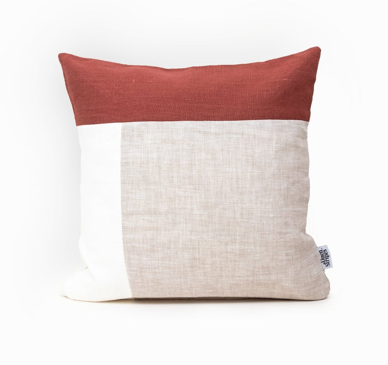 rust pillow covers 24x24 cushion cover