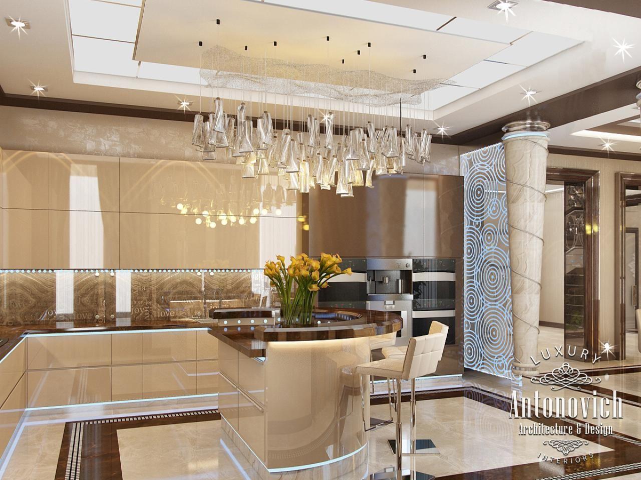Kitchen Design In Dubai Luxury Kitchen In A Contemporary Style