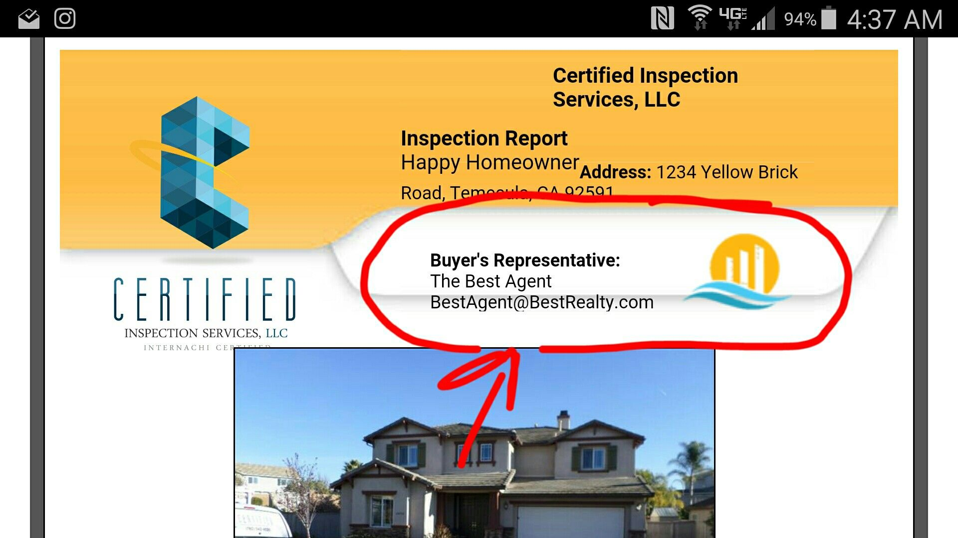 BuyerS Agent Added To Report Cover Page Free Marketing For You