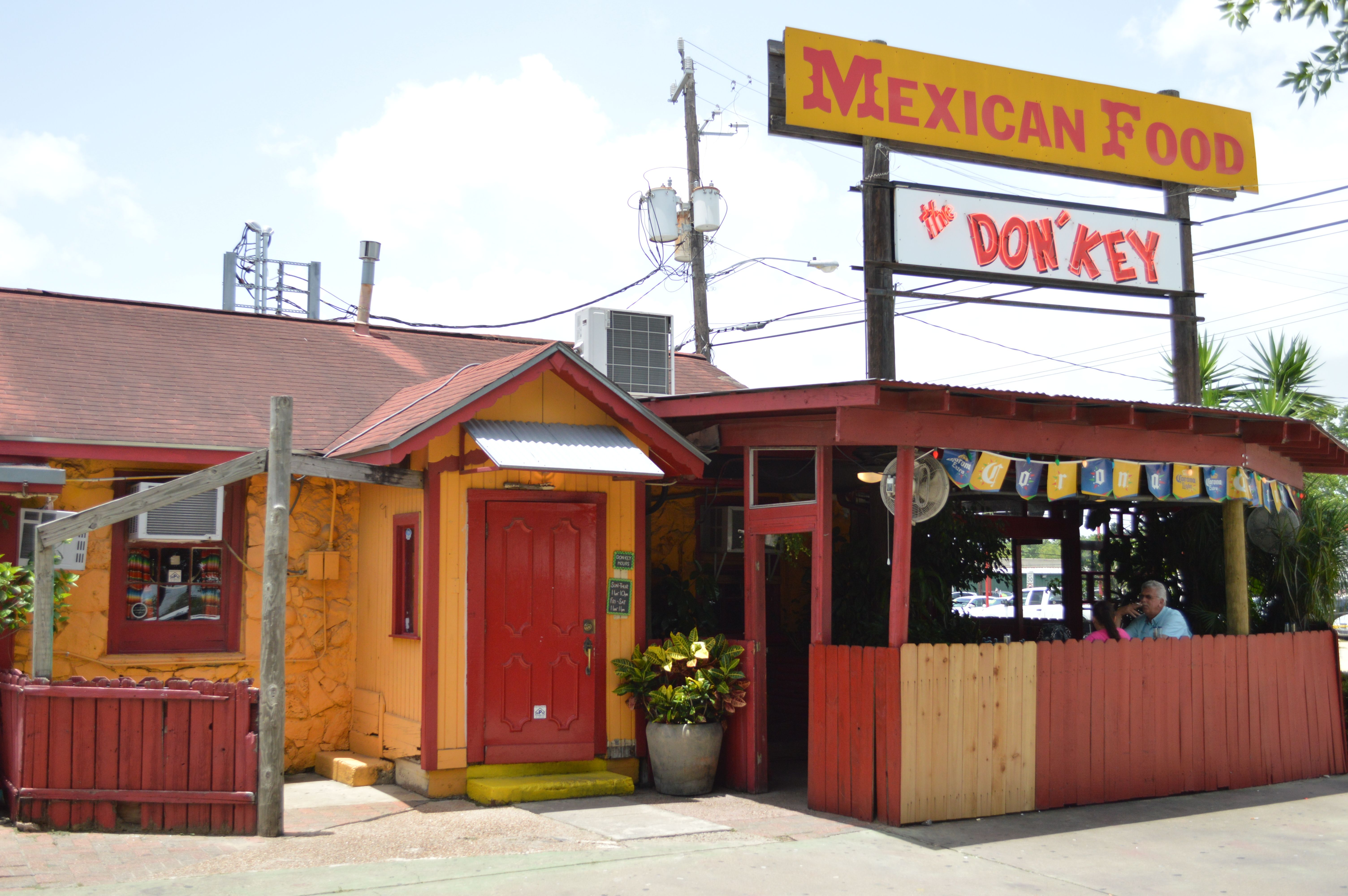 The Don Key Mexican Food Pasadena Tx Bay Area Houston Restaurants