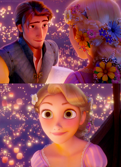 The way they look at each other!!! <3