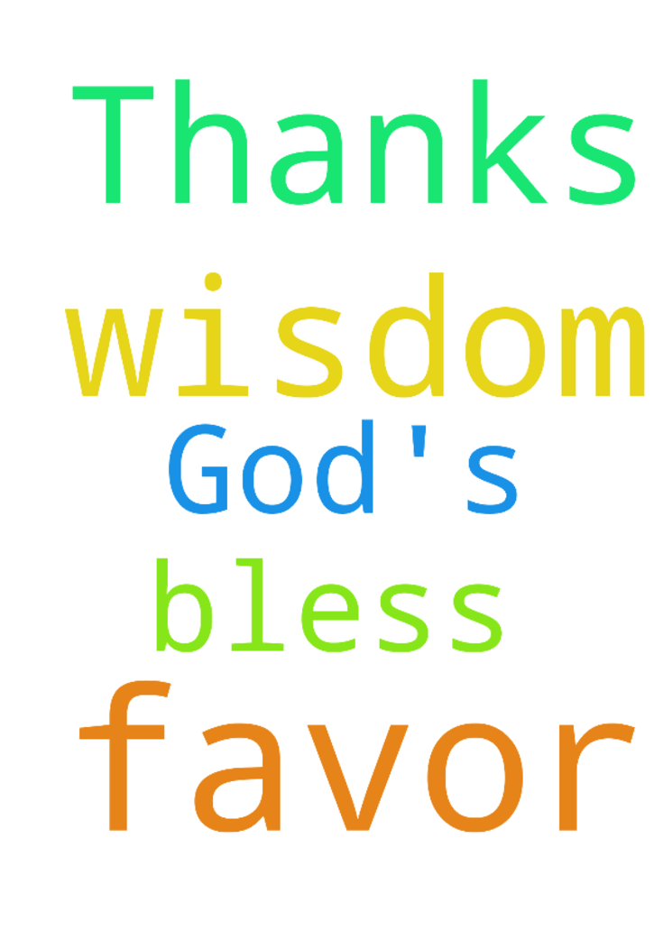 I need God's favor and wisdom please pray for me. Thanks - I need Gods favor and wisdom please pray for me. Thanks God bless all. Posted at: https://prayerrequest.com/t/uAd #pray #prayer #request #prayerrequest