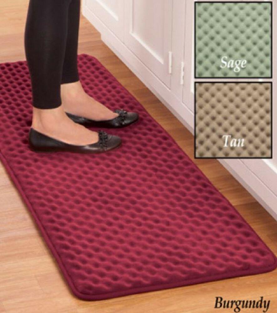 Anti Fatigue Kitchen Floor Mat Nonslip Rug Runner Cushioned