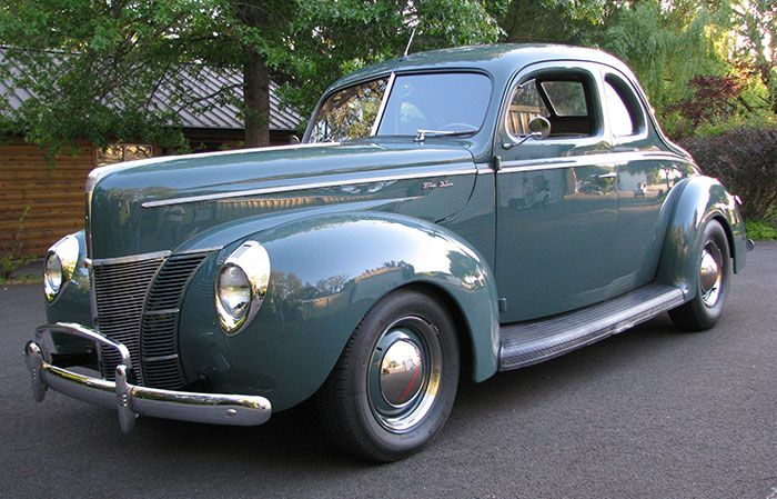 1940 Ford Deluxe Coupe 1940 Ford Ford Classic Cars Ford