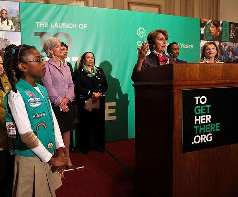 does the girl scouts support planned parenthood