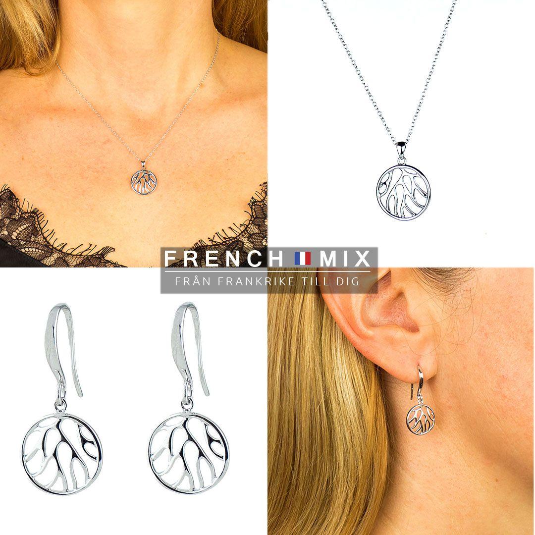 Vi älskar detta vackra smyckeset i silver designat med inspiration från  naturen Se mer på  859195948602d