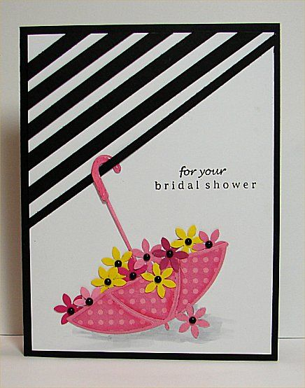 bridal shower by donidoodle cards and paper crafts at splitcoaststampers