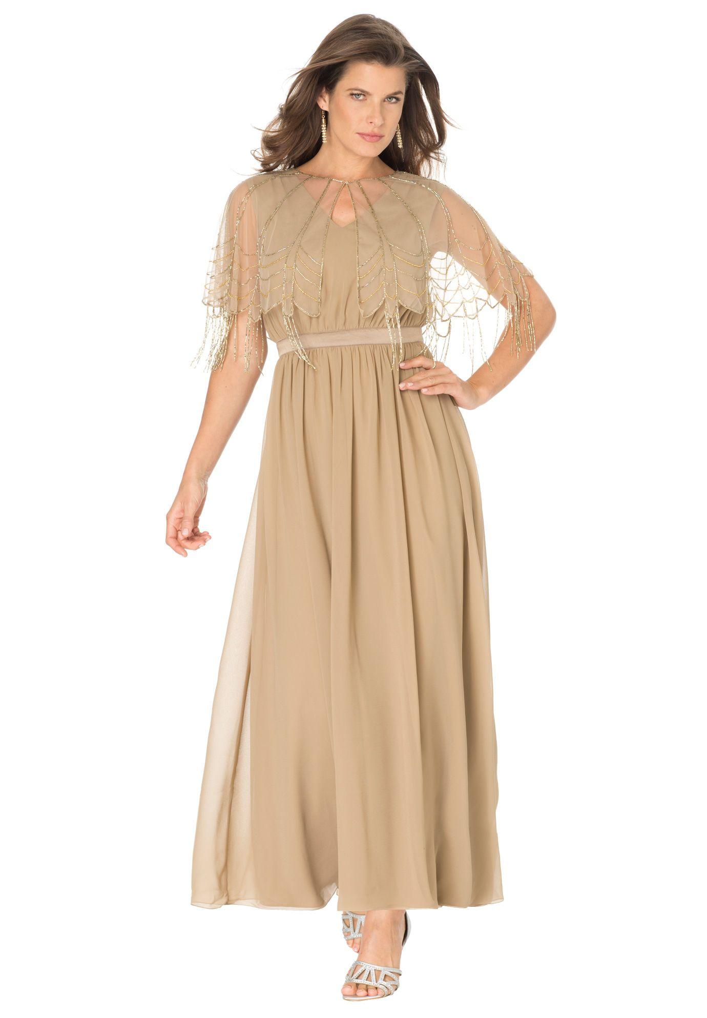 Plus size capelet jacket dress dress ideas pinterest