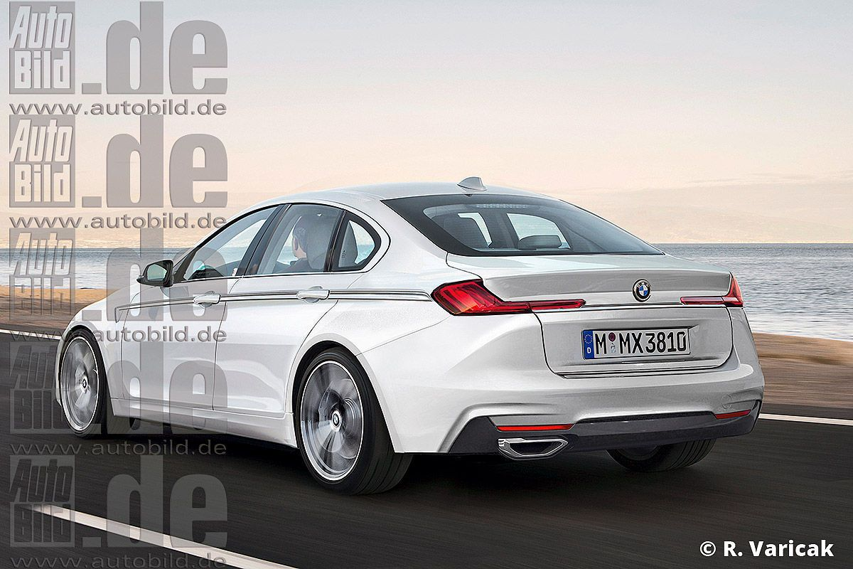 Bmw 3 series rendering 2018
