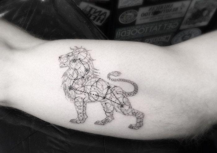 Löwe tattoo sternzeichen frau Sternzeichen löwe