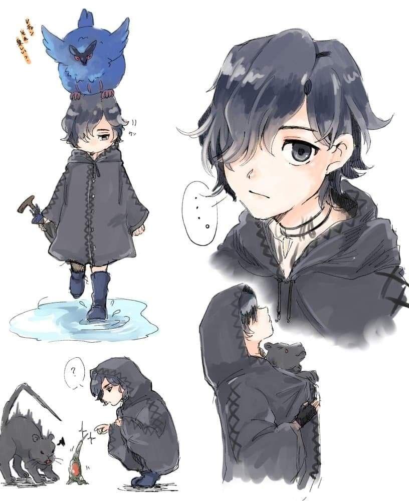 Pin oleh mil kun di anime kun devil may cry davil may cry dan crying