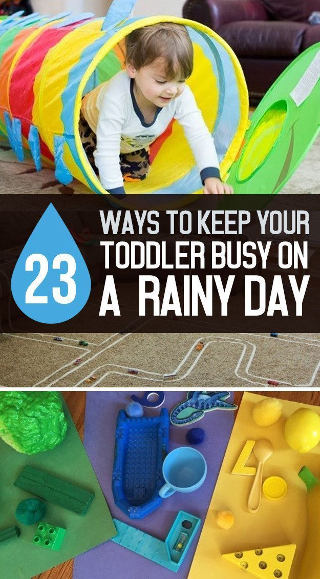 23 Easy Ways To Keep Your Toddler Busy On A Rainy Day ...