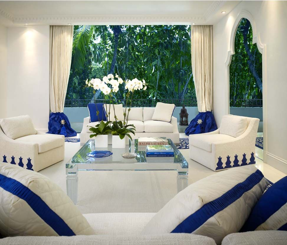 Geoffrey bradfield luxury interior design moroccan moderne palm beach