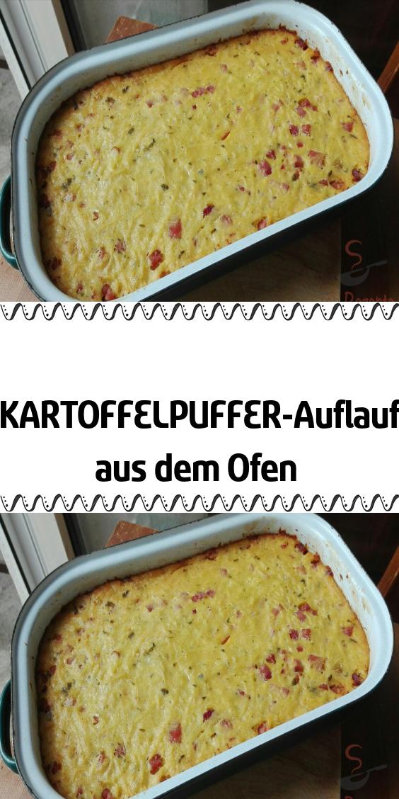 KARTOFFELPUFFER-Auflauf aus dem Ofen #kartoffelnofen