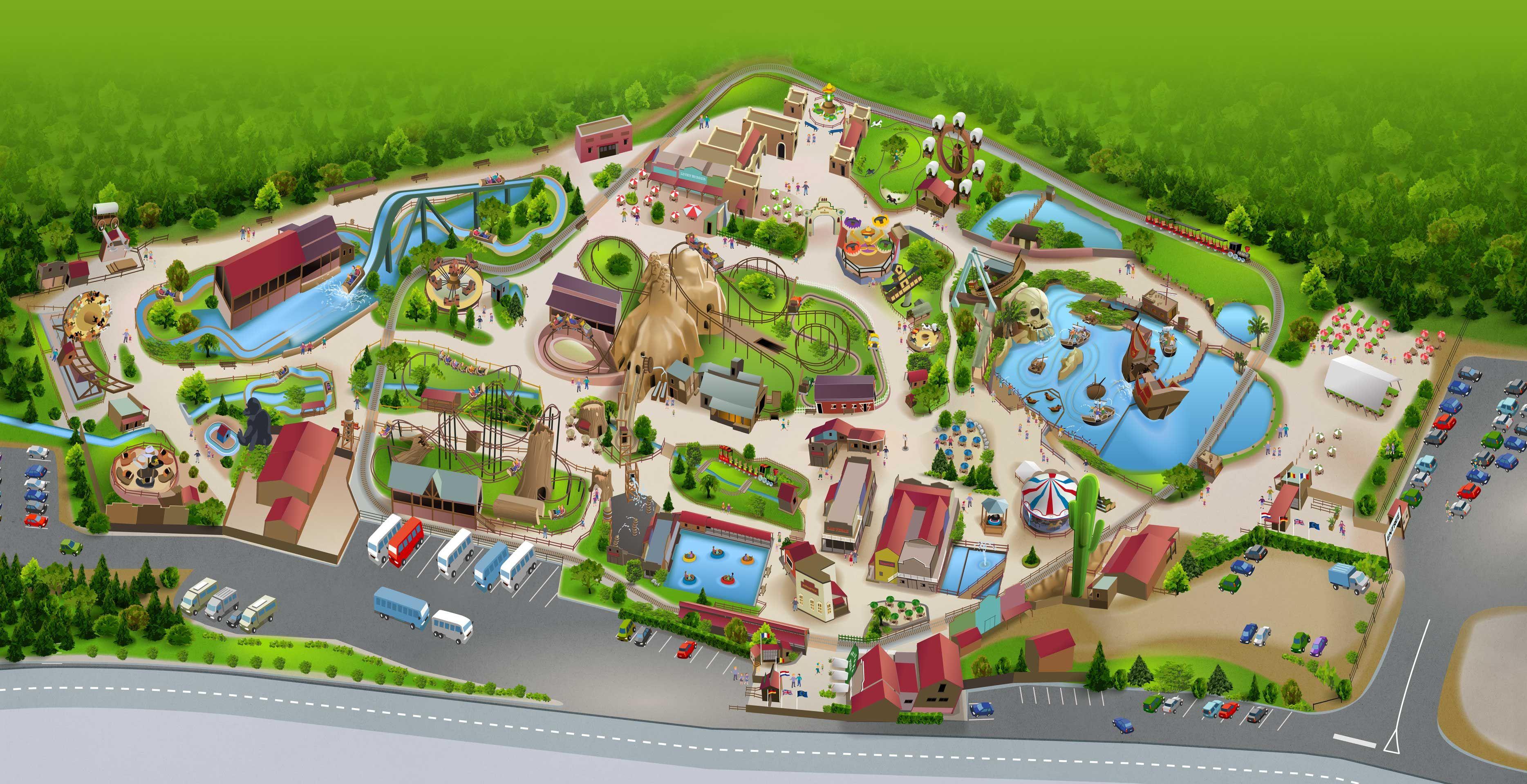 Fraispertuis City Wild West Theme Park In Germany Wild West