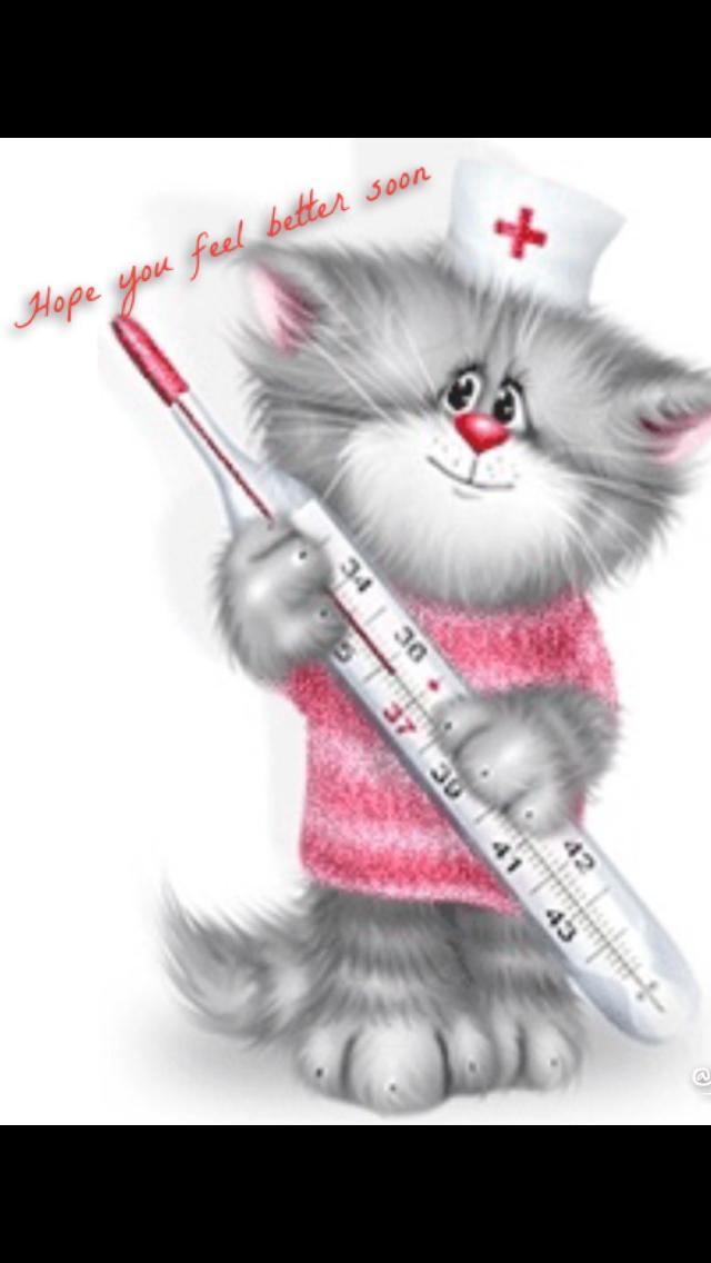 Выздоравливай котята картинки, днем