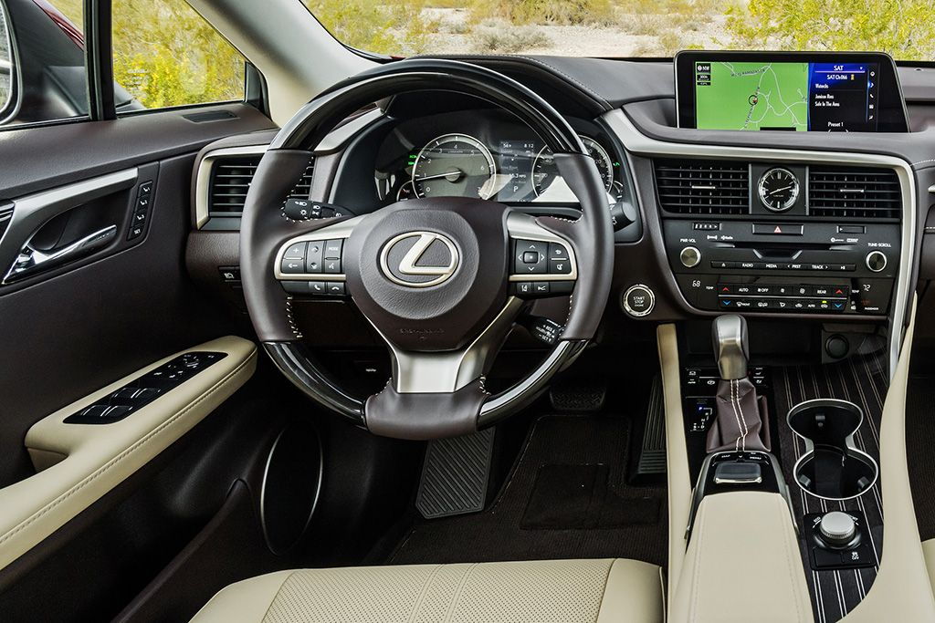 2019 Lexus Rx 350 Interior di 2020