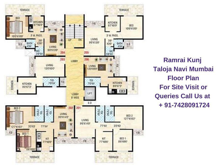 Floor Plan Navi Mumbai Floor Plans Design