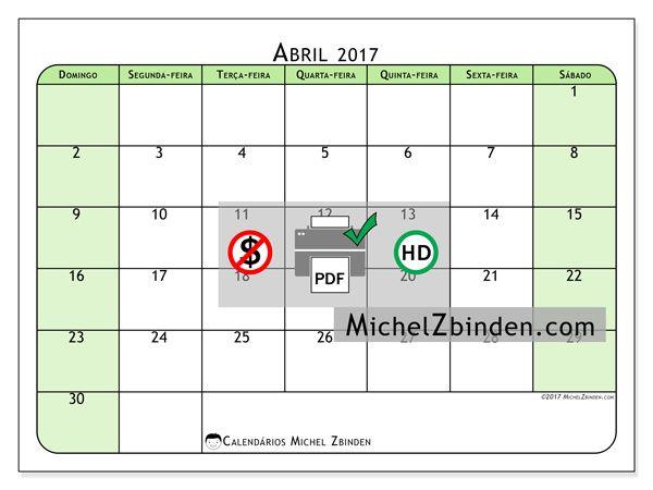 Calendario Michel Zbinden.Calendario Abril 2017 Silvanus Por Michel Zbinden Brasil