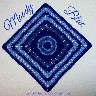 Moody Blue, new freebie from Helen Shrimpton